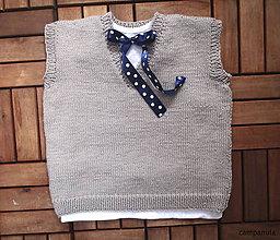 Detské oblečenie - FROM YOU: Vestička pre mimi - 5201600_