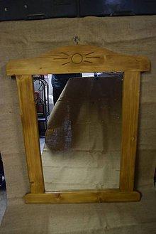 Zrkadlá - Drevené zrkadlo č.1 - 5202757_