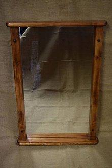 Zrkadlá - Drevené zrkadlo č. 4 - 5202828_