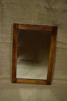 Zrkadlá - Drevené zrkadlo č. 6 - 5202857_