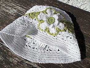 Čiapky - klobúk zelený :) - 5202820_