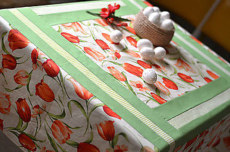 Úžitkový textil - Veľký obrus tulip - 5202989_