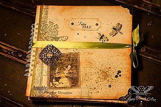Papiernictvo - Fairytale Scrapbook Album/ na zákazku :) - 5200001_
