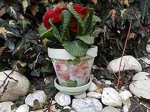 """Nádoby - ruže """"maľované"""" - 5202530_"""