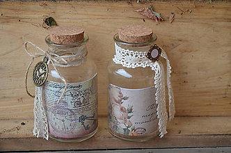 Dekorácie - Vintage fľaštičky - 5205348_