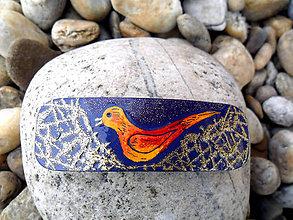 Ozdoby do vlasov - Vtáčik v hniezde - 5207061_
