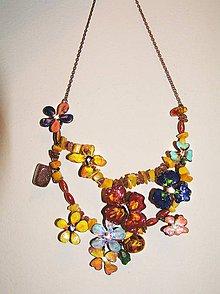 Náhrdelníky - hippiekvetky LEL - 5204513_