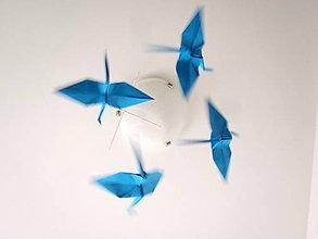 Dekorácie - Minimální maxijeřábi modří - 5206061_