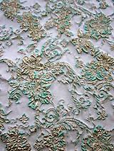 Textil - Exkluzívny hodvábny brokát - 5205634_