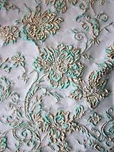Textil - Exkluzívny hodvábny brokát - 5205635_