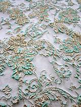 Textil - Exkluzívny hodvábny brokát - 5205636_