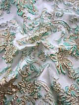 Textil - Exkluzívny hodvábny brokát - 5205638_