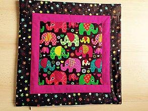 Úžitkový textil - Sloníkové vankúše - 5205569_