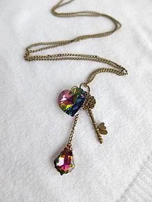 Náhrdelníky - Kľúčik od lásky - 5210680_