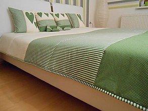 Úžitkový textil - prehoz na manželskú posteľ 200 x 200 cm - 5208657_