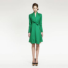 Kabáty - s/s 2015 - Kabát s šálovým límcem - 5209931_