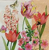 - S317 - Servítky - tulipániky - 5207652_