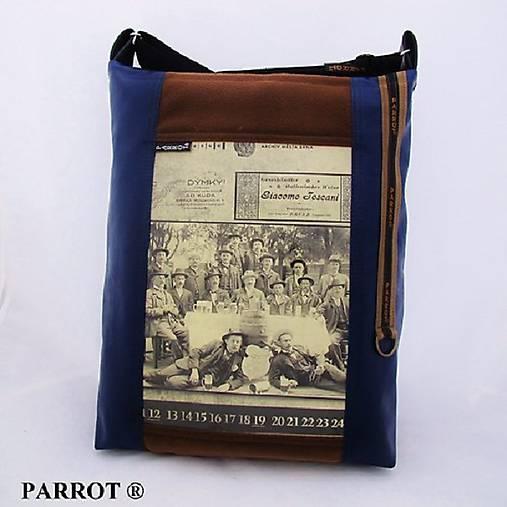 fc3903e914 RETRO BAG - No.9 na notebook - PARROT® - pánská   PARROT - SAShE.sk ...