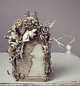 Dekorácie - Shabby chic - váza text02 - 5208490_
