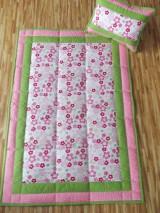 Úžitkový textil - Detská deka s minky/set/ - 5210866_