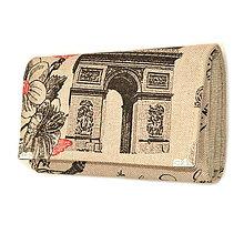 Peňaženky - peněženka Paris - 5208508_