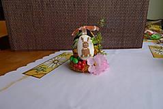 Dekorácie - hniezdo s vajíčkom - 5210031_