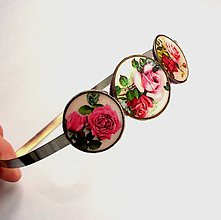 Ozdoby do vlasov - Vintage ruže II - 5209415_