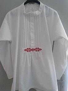 Oblečenie - Svadobná pánska košeľa Juraj - 5209804_