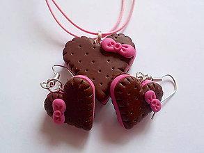 Sady šperkov - zamilovane keksiky-sada - 5210827_