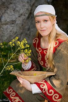 Šaty - Normanská žena - p - 5211634_