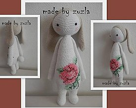 Dekorácie - lalylala -zajačica RITA - 5211556_
