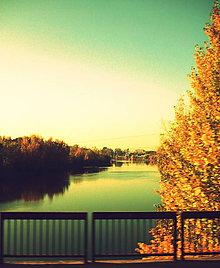 Fotografie - Jeseň na Váhu - 5215520_