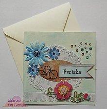 Papiernictvo - Pre teba / pohľadnicové vyznanie - 5212737_