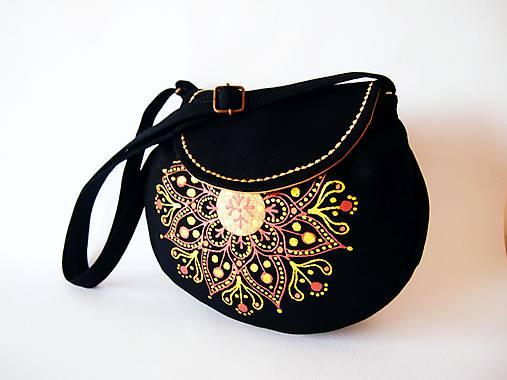 8575afc5d2 Orient - čierno-zlatá kabelka   DARTASKA - SAShE.sk - Handmade Kabelky