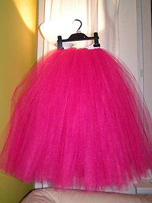 647f4e0e8fa2 Detské oblečenie - Fuchsiová tutu tylová sukňa po zem - 5214864