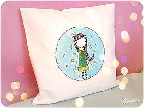 Textil - Len ja a môj svet - obliečka na objednávku - 5212196_