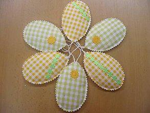 Dekorácie - Žlto-zelené - 5219057_