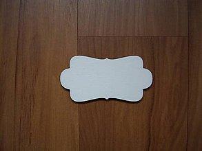 Materiál ručne robený - Drevená tabuľka - ozdobná - 5219629_