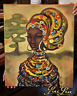 Obrazy - Afričanka - 5216053_