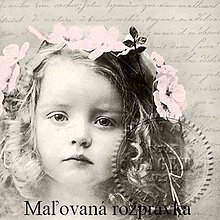 Papier - Vintage kolekcia - dievčatko - 5217886_