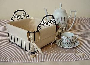 Košíky - košík na pečivo alebo iné ... - 5217149_