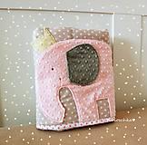 Textil - sloník deka pre dievčatko - 5217296_