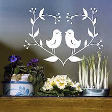 Dekorácie - Jarné vtáčiky - 5219387_