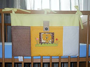 Textil - Vreckár na postieľku*Levík*50x30 - 5221734_