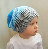 - Predĺžená 3-farebná čiapka :) - 5220541_