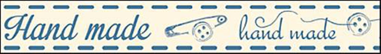 Galantéria - Bavlnená stuha NST006 - 5223304_