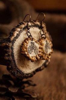 Náušnice - S poľovníckou dušou - 5222490_