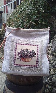 Veľké tašky - Taška Ľan 1. - 5223183_