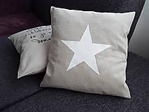 - Obliečka Biela hviezda - 5222709_
