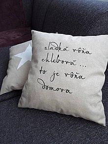 """Úžitkový textil - Obliečka """"Sladká vôňa..."""" - 5222571_"""